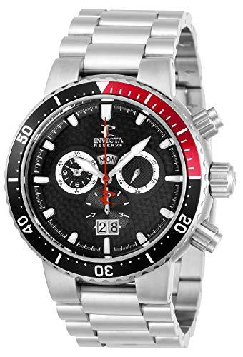 INVICTA Reloj analógico para Hombres de Cuarzo con Correa en Acero Inoxidable 29543