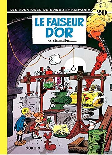 Spirou et Fantasio - Tome 20 - LE FAISEUR D'OR