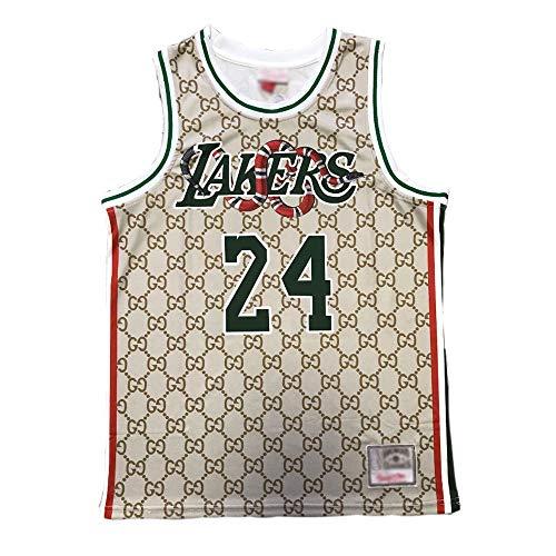 U/A Lakers Bulls-Basketballtrikot mit ärmellosem T-Shirt-Swingman-Trikot des Chip-Männer-Fitness-Laufbasketballtrainingsports