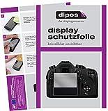dipos I 6X Schutzfolie klar kompatibel mit Panasonic LUMIX DMC-FZ1000EG Folie Displayschutzfolie