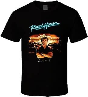 The Village T Shirt Shop Roadhouse Patrick Swayze Retro 80's Movie T Shirt