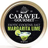 Margarita Lime Exotic Cocktail Salt - All-Natural Glass Rimmer & Finishing Sea Salt, Blended &...