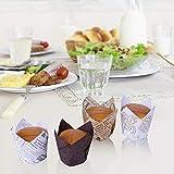 Zoom IMG-2 200 pirottini per muffin carta