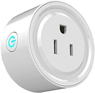 Wi-Fi Smart Plug, Enchufe Inteligente WiFi Mini Outlets Smart Socket Compatible con Amazon Alexa Control por Voz, Google H...
