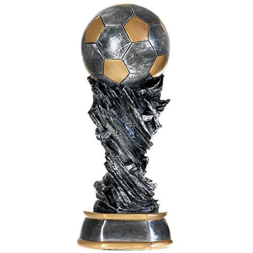 30 cm Fußball Pokal Nantes aus Resin Soccer Fußballpokal Trophäe