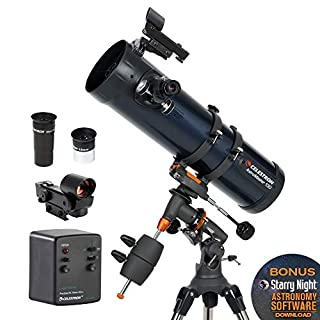 Celestron AstroMaster 130EQ-MD, Telescopio con Motor para Seguimiento Automático, Azul (B0013Z42AK) | Amazon price tracker / tracking, Amazon price history charts, Amazon price watches, Amazon price drop alerts