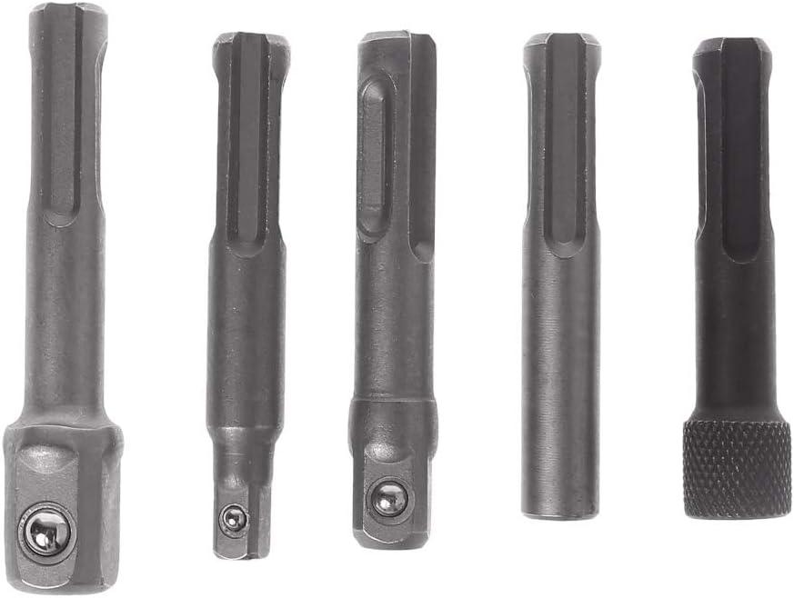 OTGO 5Pcs Set SDS Bargain sale Plus 1 4 Driver Drill List price Socket Hex Bit Hammer Ch