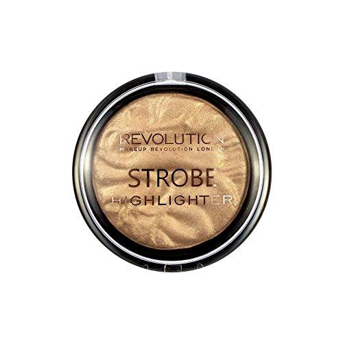Makeup Revolution Strobe Highlighter Gold Addict Rozświetlacz