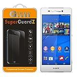 [3-Pack] for Sony Xperia Z3v (Verizon) - SuperGuardZ Tempered Glass Screen...