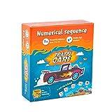 The Brainy Band Trafficars, gioco di apprendimento per bambini, auto e serie di numeri, contatori, calcoli, gioco di carte e numeri per imparare a fare maternità per studenti dai 6 anni in su