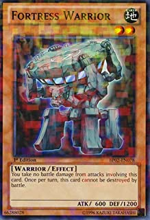 Yu-Gi-Oh! - Fortress Warrior (BP02-EN078) - Battle Pack 2: War of the Giants - 1st Edition - Mosaic Rare