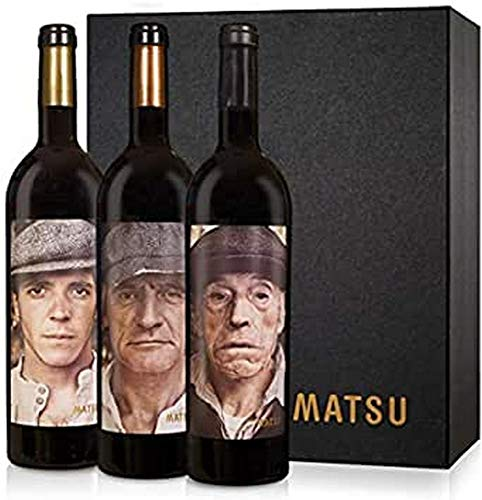 Matsu - Vino tinto El Pícaro, El Recio y El Viejo Toro ✅