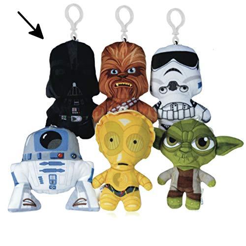 Star Wars Darth Vader Bagclip Bag Clip Schulranzen Ranzen Plüsch Plüschfigur Plüschtier 12 cm*NEU*
