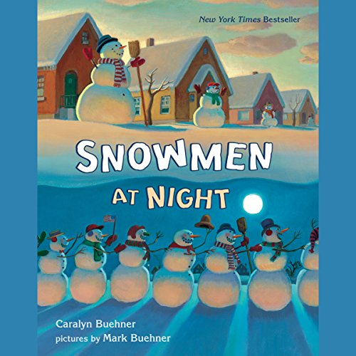 Snowmen at Night audiobook cover art