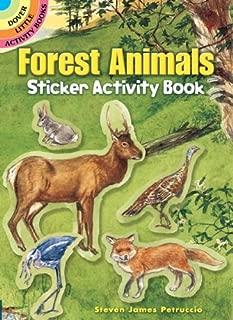 Forest Animals Sticker Activity Book (Dover Little Activity Books Stickers)