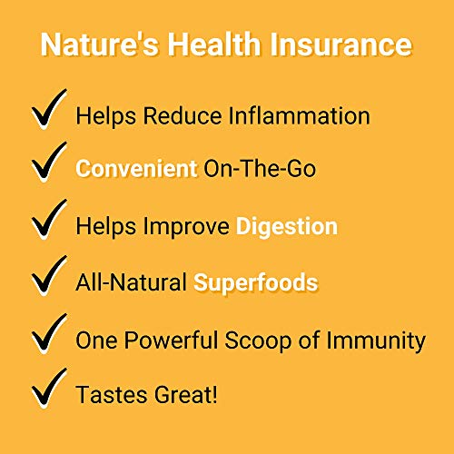 Smart Pressed Juice Immunity Wellness Drink | Organic Turmeric Curcumin Ginger Shot for Immune Support | Apple Cider Vinegar Lemon Ginger & Echinacea | Natural Ingredients | Made in USA | 30 Servings