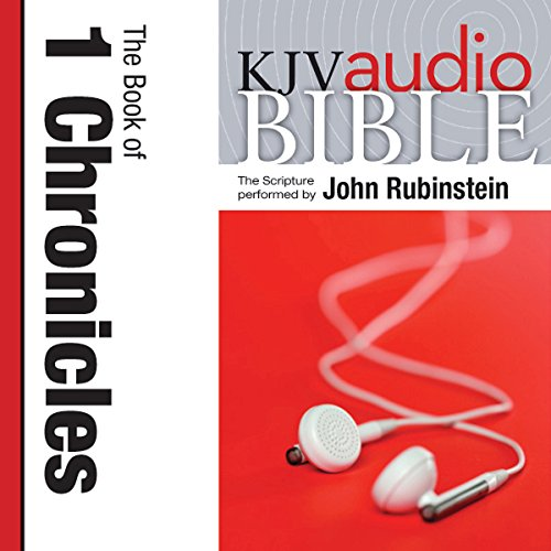 King James Version Audio Bible: The Book of 1 Chronicles audiobook cover art
