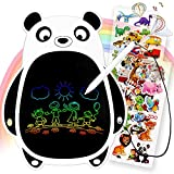 Hion LCD Writing Tablet 8.5Inch Colorful Doodle Board,Electronic Drawing Board Drawing Pad for Kids,Educational and Learning Kids Toys Gift for 3 4 5 6 7 8 Years Old Girls and Boys (Black-white Panda)