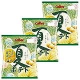 カルビー 夏ポテト 安曇野わさび醤油味 65g ×3袋