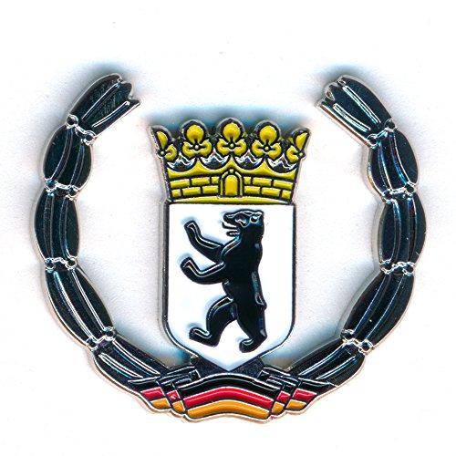 Berlin Wappen Deutschland Symbol Flagge Metall Button Badge Pin Anstecker 0439