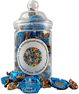 Tarro recto de 200 g de Walkers envueltos individualmente con caramelo salado
