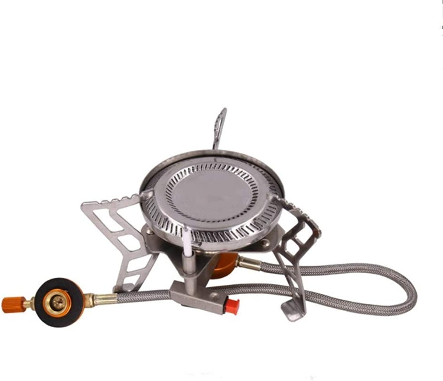1-1 Campingofen, Portable Compact Faltvorleumfen Brennstove High Power Electronic Fireproof Windproof Stove Outdoor Travel