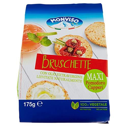 Monviso Bruschette Maxi Pomodoro e Capperi - 175 g