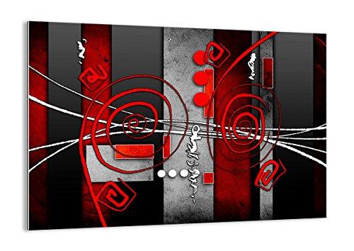 ARTTOR Quadri Moderni in Vetro - Stampe da Parete - Home Decor - Quadri da Salotto, Cucina E Altre Stanze - Varie Dimensioni e Temi Grafici - GAA100x70-0599