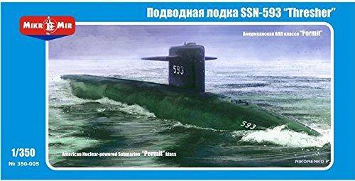 SSN-593 'Thresher' U.S. submarine MM350-005