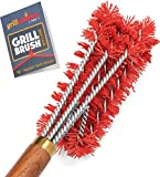 Grillaholics Pro Nylon Grill Brush - Better Than a Bristle Free Grill Brush Nylon Bristle Brushes...