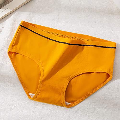 TGZZ Femmes Culottes sans Couture Lingerie Coton Slips Pantalons Solides sous-vêtements respiratoires sous-vêtements féminins String intimes XL ,H,M