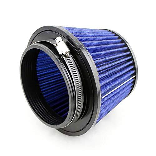Rumors Universal Sports Luftfilter 115mm Auto Intake Wiederverwendbare Modified Pilzkopf Waschbar Auto Luftfilter MC20S0227 (Color : Blue)