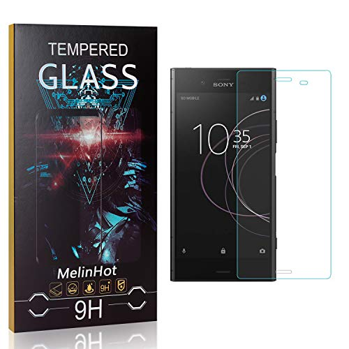Displayschutzfolie für Sony Xperia Z4 Compact, MelinHot Blasenfrei Schutzfilm aus Gehärtetem Glas für Sony Xperia Z4 Compact, 9H Härte, Kratzfest, 99% Transparenz, 3 Stück