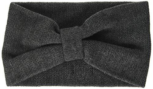 Sterntaler Mädchen Strick-Stirnband, Grau, 55-57