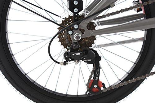KS Cycling Erwachsene Faltrad 20'' Cityfold grau RH 27 cm Fahrrad, 20 - 3