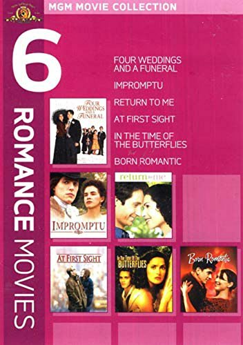 Romance 6 Pack (Four Weddings and a Funeral / Impromtu / Return to Me / At First Sight / In the Time of Butterflies / Born Romantic)
