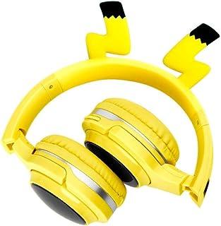 MDHANBK Auriculares Bluetooth 5.0, los Auriculares LED admiten Auriculares con Cable de Audio de Tarjeta SD