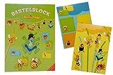 alles-meine.de GmbH - Bloque para manualidades de la abeja Maya - Juego de libro para habitación infantil - Decoración para manualidades - Flip Willi Animales