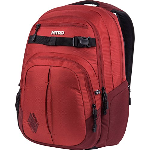 Nitro - Snowboards - Chase Sac à dos - Mixte - Rouge (Chili) - 51 x 37 x 23 cm, 35 L