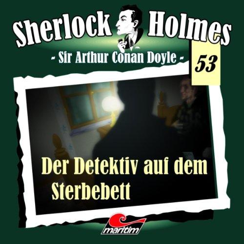 Der Detektiv auf dem Sterbebett audiobook cover art