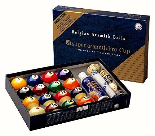 Unbekannt Super-Aramith Pro Cup Value Pack 1400.17 - Juego de bolas (57,2 mm)