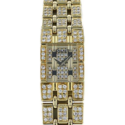 ピアジェ PIAGET トラディション ケース・ブレスダイヤ 15201 ゴールド文字盤 中古 腕時計 レディース (W174270) [並行輸入品]