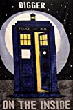 Lady Sandra Doctor Who 60' x 80' Tardis Plush Throw Blanket (Bigger On The Inside)