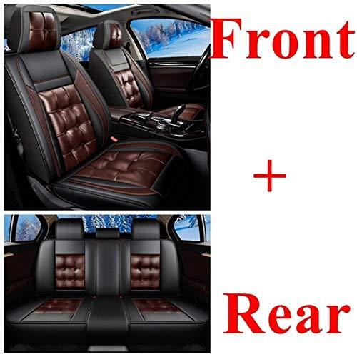 XIARI Set Coprisedili Auto Universale per Hyundai I30 Solaris Tucson Creta Elantra Sonata Accent Grand-Santafe Ioniq Ix35 I40 Avante Azero-Black Coffeestandard