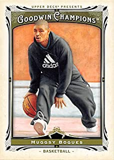 Muggsy Bogues Basketball Card (Wake Forest) 2013 Upper Deck Goodwin Champions #140