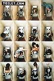 Xzmafthfrw (24x36) Toilet Cam (Bathroom Scenes) Art Poster