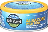 Wild Planet Sustainably Caught Wild Albacore Tuna, Cans, 5 oz