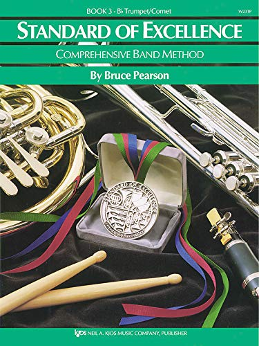 W23TP - Standard of Excellence Book 3 - Trumpet/Cornet (Comprehensive Band Method)