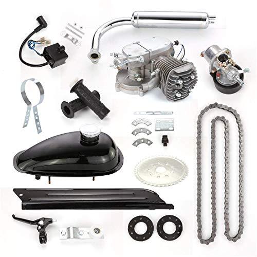 DBSCD Kit de Motor de Bicicleta 80CC Kit de conversión de Bicicleta eléctrica de Motor de Bicicleta motorizado a Gas de 2 Tiempos con Herramientas