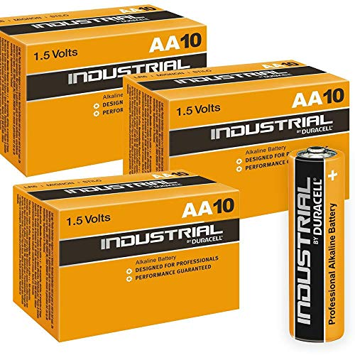 Duracell 30 X AA Batterie Alcaline Industrial Orange